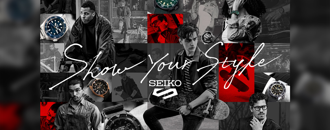 Seiko 5 Sports Show your style